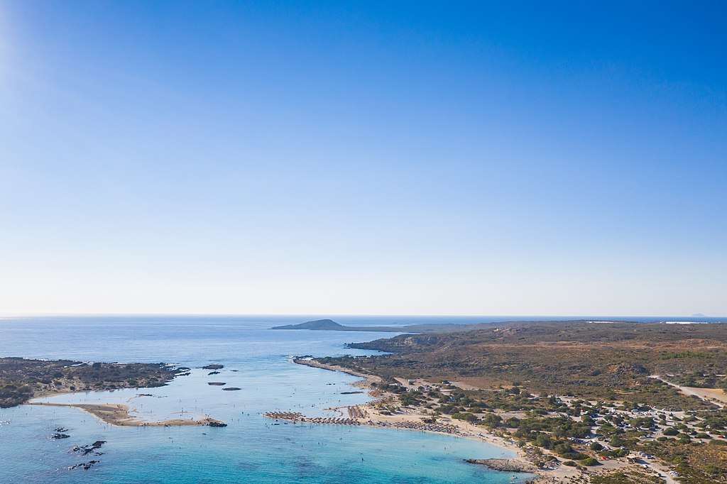 Elafonisi Lagoon crystal waters- things to do in Chania- Hiking and swimming activities