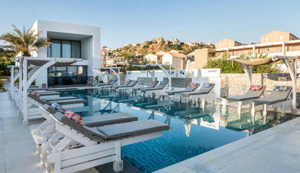 Platanias Ariston Executive Hotel Pool