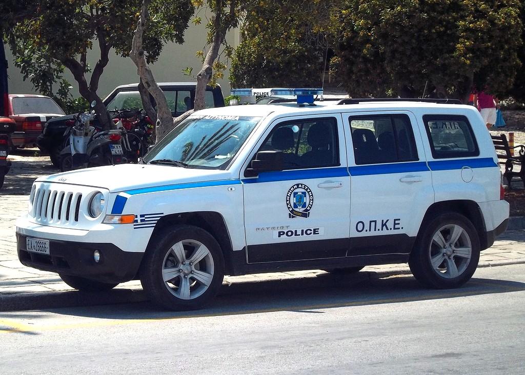Police car in Greece- Greek public service-