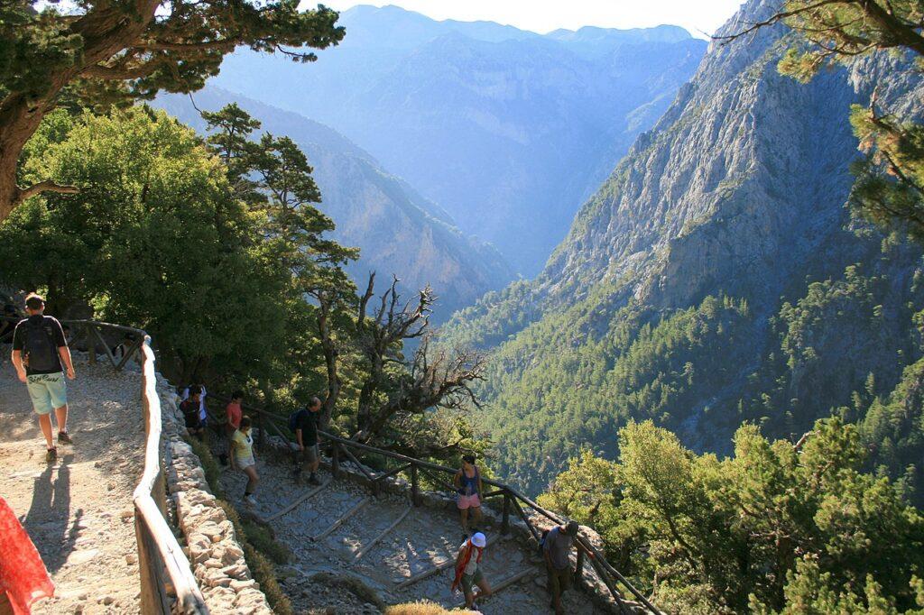 Travelling in Crete- Samaria Gorge journey