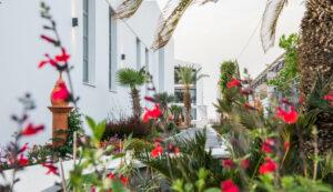 Platanias Ariston Hotel in Chania- Garden View