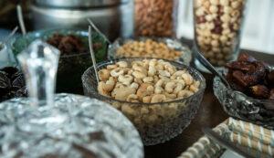 hotel with Breakfast Platanias- Platanias Ariston Breakfast dry nuts