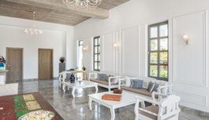 Platanias Ariston beach hotel in Platanias Crete- Reception areas