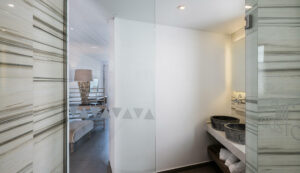 beach hotels in Platanias- Interior bathroom areas- Platanias Ariston Executive Beach resort in Chania