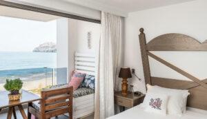 sea view suites hotel in Platanias Chania- Platanias Ariston Beach Resort
