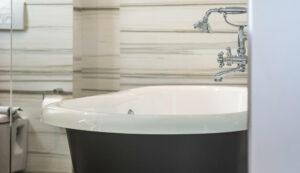luxury hotel in Platanias, Chania- En suite Bathroom