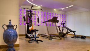 spa and gym hotel in Chania- Gym areas- Platanias Ariston Hotel