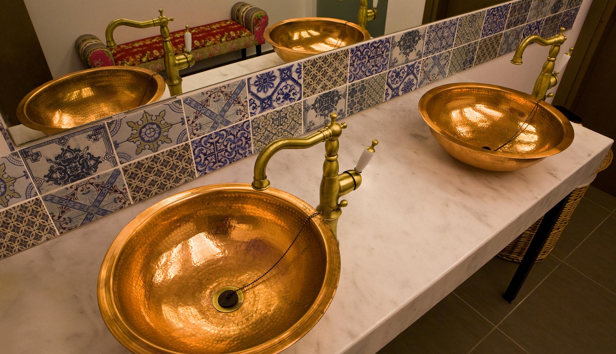 Bathroom Area - Platanias Ariston Beach Resort Executive