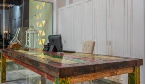 Platanias Arison Hotel in Chania- Platanias- Reception Desk area