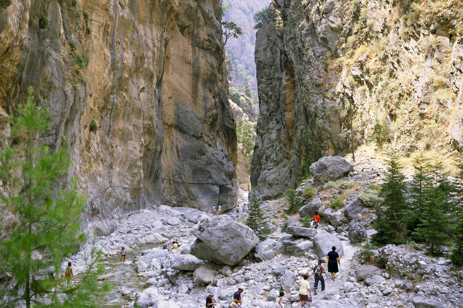 Samaria Gorge- Platanias Ariston
